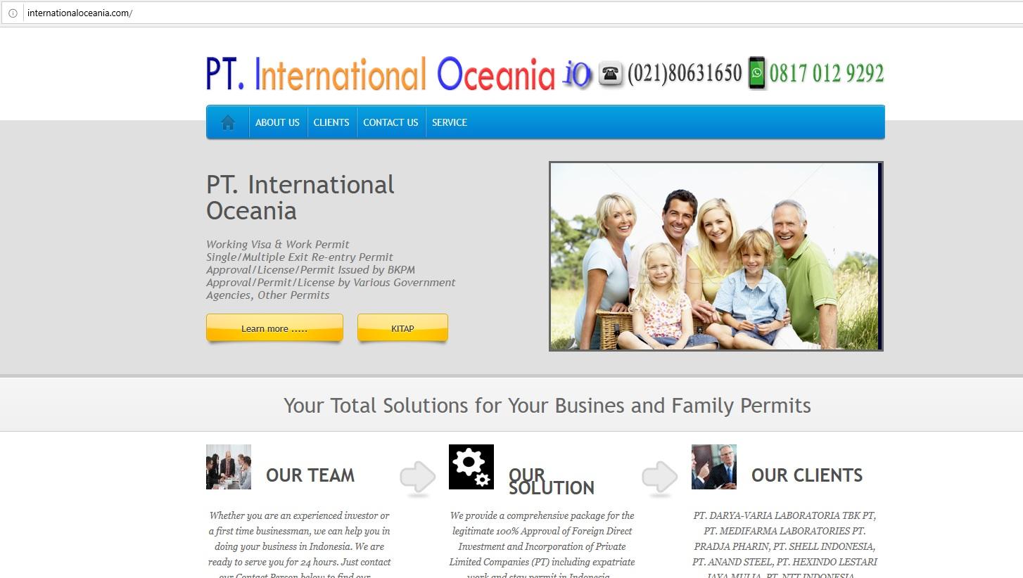 PT. International Oceania